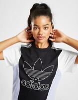 New adidas Originals Women's Colour Block Outline T-Shirt