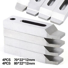 4pcs/set Wire Edm Machine Clamping Jig Holder 80mm / 70mm + M8 x 1.25 Screw Sale