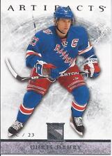 Chris Drury 23 #10 2012-13 Upper Deck Artifacts NHL Hockey Card New York Rangers