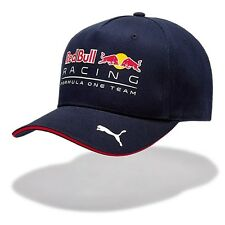 2017 OFFICIAL F1 Red Bull Racing Team Cappellino Da Baseball Cappello Blu Navy Da Uomo-Nuovo