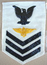 Original WW2 US NAVY Aviation EM PILOT Gold-Wing Sleeve Rate