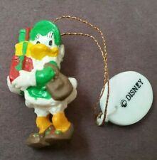 "Disney Vintage ""Mickey & Pals"" Donald Duck Miniature Christmas Tree Ornament"