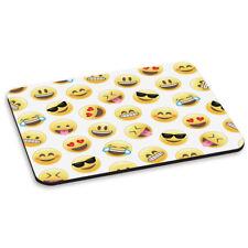 Emoji CARAS Sonriendo ALFOMBRA RATÓN ORDENADOR PC - Divertido Amarillo Niños