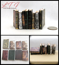 1:6 Scale Ancient Text Books Set of 8 Miniature Prop Faux Books Phicen Barbie