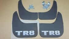 Triumph TR8 ** MUDFLAP Set, Pair of fronts, Pair of rears **including fixings