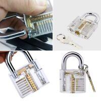 Locksmith Transparent Visable Cutaway Practice Padlock Lock training K4L5