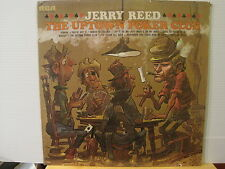 Jerry Reed- The Uptown Poker Club- US Press-Vinyl Lp- Free UK Post
