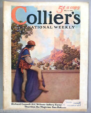 Collier's Magazine - May 11, 1929 ~~ Maxfield Parrish cover art