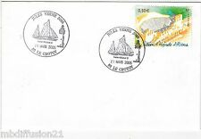 2005**ENVELOPPE**FDC 1°JOUR!!**athenes odeon d'herode atticus**Y/T TIMBRE 3720