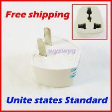 EU / Australia / UK AC Power Travel to USA Plug Adapter Socket