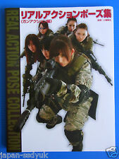 "JAPAN POSE BOOK: Real Action Pose Collection ""Gun Action"""