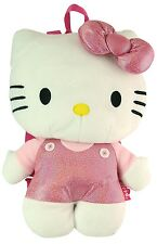 Licensed Hello Kitty Pink Plush Backpack #FU3069318