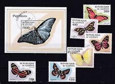 Guinee 1998 - Block & Sheets - Vlinders / Schmetterlinge / Butterflies