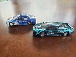 Hornby Hobbies Slot Car 1/32 Scale Jaguar & Ford Slot Cars Lot