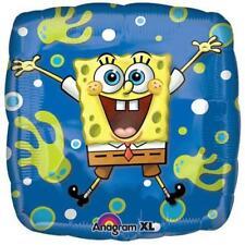 "SpongeBob Bubbles of Joy Foil Mylar 18"" Balloon Birthday Party Supplies New"
