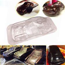Molding Candy Car Shape Mold 3D Chocolate Mould Fondant Cake Polycarbonate