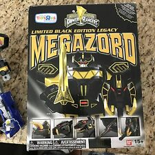 LOT Power Rangers MMPR Legacy Black Megazord Figure AND 2010 Megazord