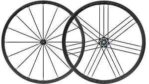 """NEW - Campagnolo Shamal Mille Total Black 28"""" Wheelset Clincher - FREE INT SHIP"""
