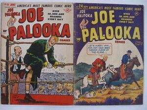 JOE PALOOKA #21 FN 24 VG 27 VG/F (Powell in 21-27) #80 FN- Guide $97