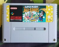 SUPER MARIO ALL STARS - SNES - Retro Sale! - Super Nintendo Game - PAL ALLSTARS