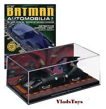 Eaglemoss 1:43 Batman Automobilia Detective Comics #667 Subway Rocket #36
