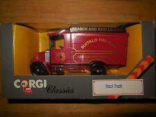 1986 corgi buffalo fire dept search and rescue co.3 mack truck