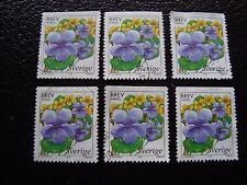 SUEDE - timbre yvert et tellier n° 2043 x6 obl (A29) stamp sweden