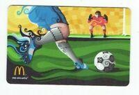 McDonalds Gift Card - Soccer / Pure Futbol - 2014 - No Value