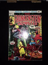 The Frankenstein Monster #6 (1973) FN (1st of new title change)