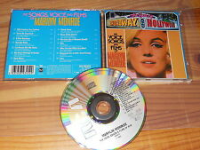 Marilyn Monroe-the songs Voice and Film/GERMANY-CD 1989 Comme neuf -