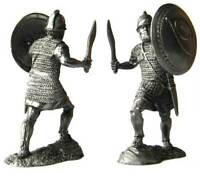 Carthaginian Soldier of the Sacred Band Tin toy soldier 54 mm. metal