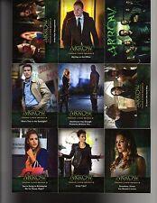 Cryptozoic Arrow season 2 base set 72 card  + Wrapper