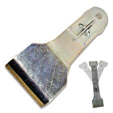 "8"" Metal Safety 3-Way Position Razor Blade Scraper Tool Sticker Adhesive Remover"
