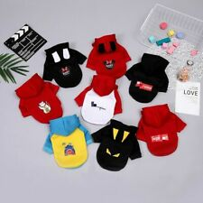 Dog Hoodie Winter Fashion Cartoon Pet Clothes Dogs Coat Jacket Cotton Clothing