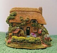 "Lilliput Lane Cottages ""Brassed Off"" L2972 Mint in original box with deed."