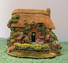 """Lilliput Lane Cottages """"Brassed Off"""" L2972 Mint in original box with deed."""