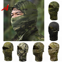 Bionic Camouflage Full Face Mask Quick-dry Hood Hunting Outdoor Scarf Balaclava