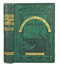 1879 JULES VERNE - Adventures Of Three Englishmen In South Africa