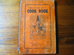 ARVILLA ND PRESBYTERIAN LADIES AID CHURCH COOKBOOK 1941 SC NORTH DAKOTA