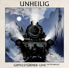 UNHEILIG - GIPFELSTÜRMER (LIVE IN ÖSTERREICH) 2 CD NEUF
