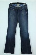 PAIGE Jeans 'Hollywood Hills' Flare Leg Sz 27 Darkwash Denim Trouser Bootcut Mid