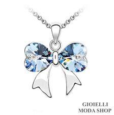Collana con Ciondolo Farfalla Donna Crystal Swarovski Elements - G172