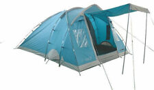 Tent TOURIST Highlander ELM 4 Persons CAMPING OUTDOOR HIKING Blue