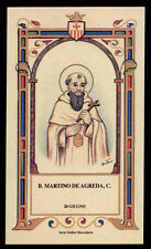 santino-holy card B.MARTINO DE AGREDA mercedario
