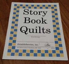 STORY BOOK QUILTS Book (LITTLE BOY BLUE, DAISY CHAIN)  Lynette Jensen