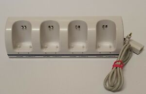 Nintendo Wii Rechargeable Battery Charging Dock 4 Slots - Fully Tested Working