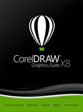 CorelDraw Graphics Suite x8-Bundle 1 utenti (2 PC) - DE/EN/FR + multiling.