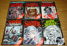Gore Shriek #1-6 VF/NM complete series - fantaco horror 2 3 4 5 greg capullo set