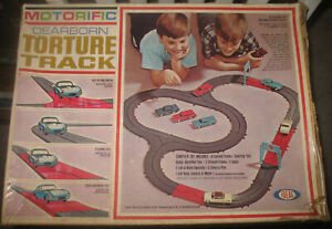 Ideal Motorific Dearborn Torture Track Set-No Cars