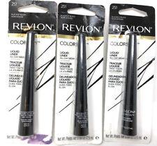 (3) Revlon Colorstay Liquid Liner New & Sealed 251 - Blackest Black
